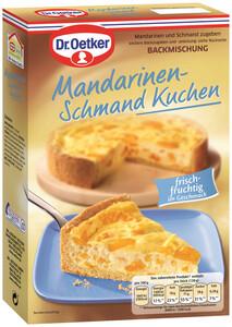 Dr.Oetker Backmischung Mandarinen Schmand Kuchen 460 g