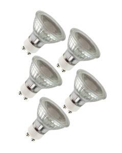 GU10 Leuchtmittel mit 3 Watt und 260 Lumen - 5 Stück