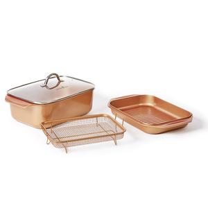 Livington Copperline Bräter & Auflaufform »WonderCooker«