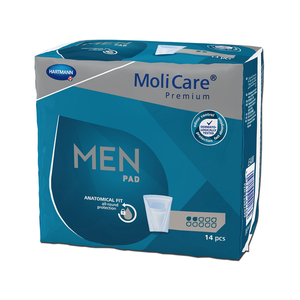 MoliCare Premium MEN Pad, 2 Tropfen, 84 Stk.