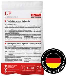 25er Set FFP2 Atemschutzmaske LP1