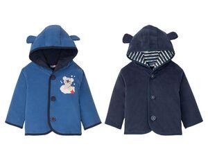LUPILU® Baby Outdoorjacke Jungen, mit Tieröhrchen