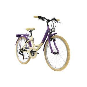 KS Cycling Kinderfahrrad 24'' Kahuna für Mädchen, Größe: 36, Lila