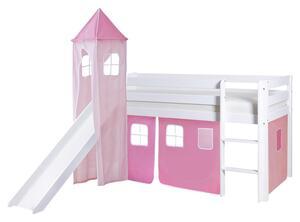 Spielbett in Rosa/Weiß/ Hellrosa ´808899 KASPER´
