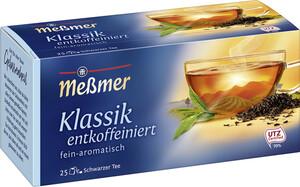 Meßmer Tee Klassik entkoffeiniert 25ST 43,8G