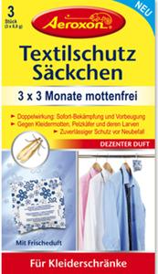 Aeroxon Textilschutz-Säckchen 3ST