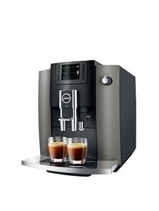 JURA Kaffevollautomat E6 dark inox