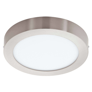 Eglo Leuchten LED-Aufbauspot D.22,5cm nickel