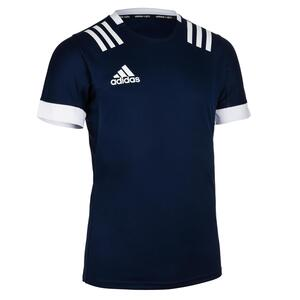 Rugby-Trikot Kurzarm 3S Herren blau