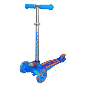 Hudora - Roller Flitzkids Glow - blau
