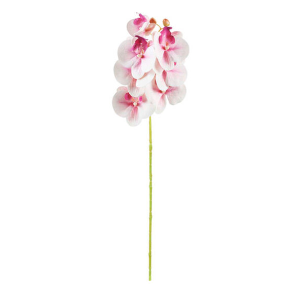 Kunstblume Orchidee 53 cm in Pink
