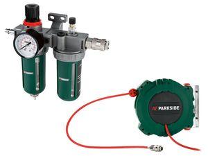 PARKSIDE® Druckluft-Schlauchtrommel/ Druckluft-Wartungseinheit