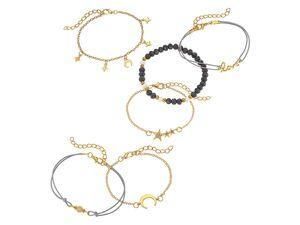 Heideman Multi Armband-Set Damen aus Edelstahl gold für Frauen