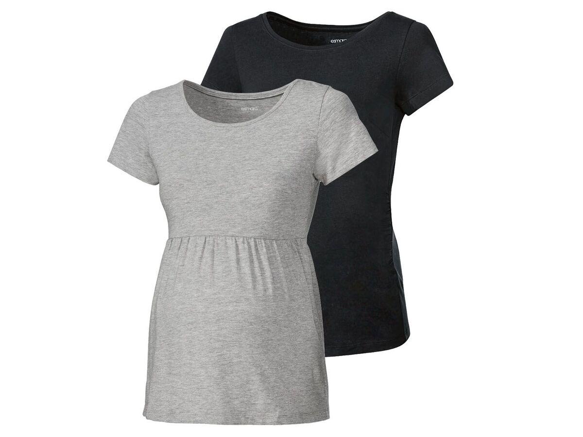 Bild 2 von ESMARA® Umstandsthirts Damen, 2 Stück