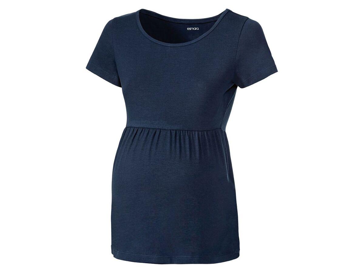 Bild 9 von ESMARA® Umstandsthirts Damen, 2 Stück