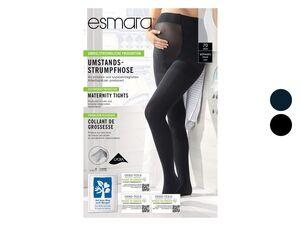 ESMARA® Umstandsfeinstrumpfhosen Damen, breiter Softbund