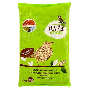Wildvogelfutter Erdnüsse geknackt 1 kg