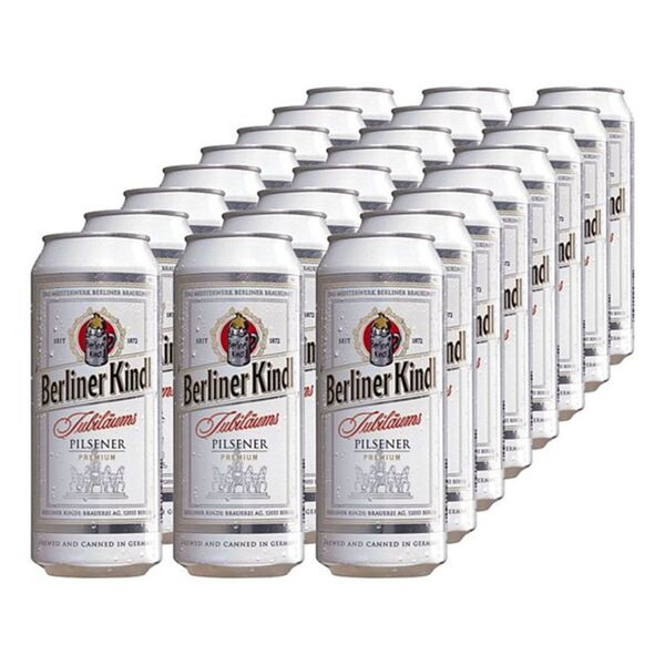 Berliner Kindl Jubiläums Pilsener 5,1 % vol 0,5 Liter Dose, 24er Pack