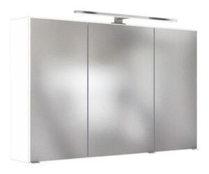Spiegelschrank in Weiss mit LED 'Pienza'