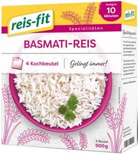 Reis-Fit Basmati Reis im Kochbeutel 10-12 Minuten 4x 125 g