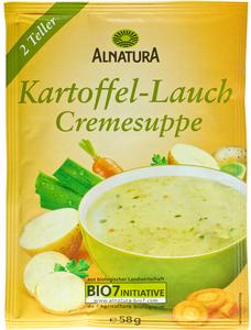 Alnatura Bio Kartoffel-Lauch Cremesuppe 58G