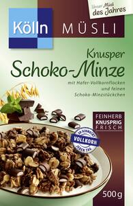 Kölln Müsli Knusper Schoko-Minze 500 g