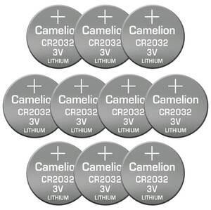 10er Pack CR2032 Lithium Knopfbatterie