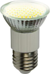 GU10 60 SMD / 3 Watt LED Lampe - warmweiß 2700K