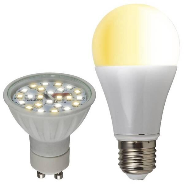 Einstellbare LED Reflektorlampe mit 3 Farbtönen, GU10, 5 Watt