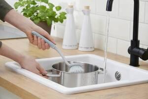 Profi-Reinigungsset, Kehrset, Spülbürste, Reinigungsbürste, Fensterabzieher, 5-teilig