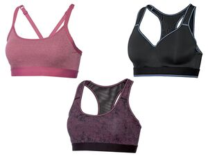 CRIVIT® Sport BH / Bustier Damen, Medium-Level