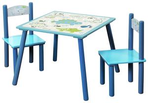 Kesper Kindertisch mit 2 Stühlen Dino