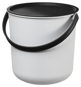 Box mit Deckel Ole in Grau ca. 10 Liter