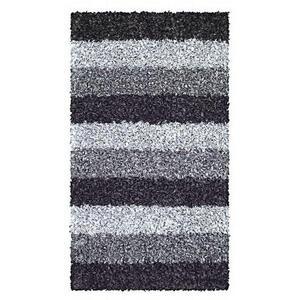 Kleine Wolke BADTEPPICH Schieferfarben 60/100 cm , Lounge 4000 905 360 , Textil , Streifen , 60x100 cm , für Fußbodenheizung geeignet, rutschhemmend , 003342104503