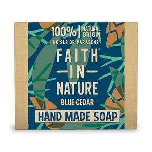 Faith in Nature Handseife Blue Cedar