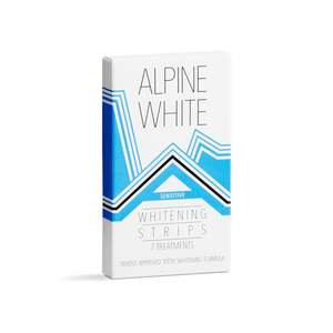 ALPINE WHITE Whitening Strips Sensitive