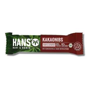 HANS Brainfood Bio Hanfriegel Kakaonibs