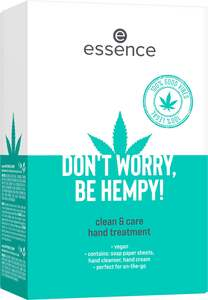 essence DON'T WORRY, BE HEMPY! clean & care hand treatment box