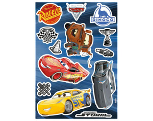 Dekosticker Cars 3 ca. 50 x 70 cm