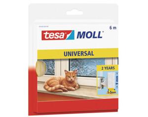 tesamoll® Schaumstoff Universal ca. 6 m x 9mm x 6 mm weiß