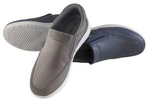 Komfort Slipper, Farbe grau, Gr. 43