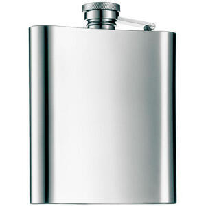 WMF Flachmannset , 0603519990 , Silberfarben , Metall , 11.20x3.20x15.20 cm , 0037310570