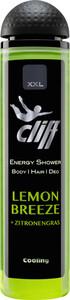 Cliff Energy Duschgel Body & Hair Lemon Breeze + Zitronengras 300 ml