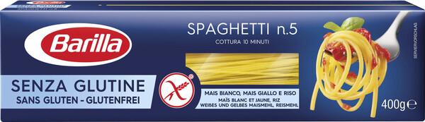 Barilla Nudeln Spaghetti glutenfrei 400 g