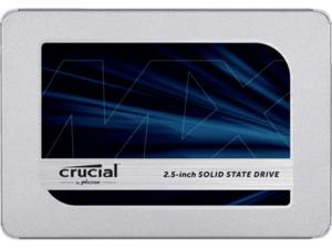 CRUCIAL MX500, 1 TB, SSD, Interner Speicher, 2,5 Zoll, intern