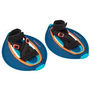 Aquafitness-Hanteln Pullstep Mesh blau/orange