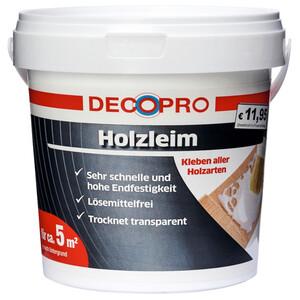 DecoPro Holzleim im Eimer transparent für sämtlichen Holzarten und Möbelmontage