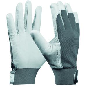 Handschuhe Uni Fit Comfort Größe 10 aus Ziegenleder