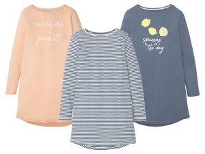 ESMARA® Lingerie Bigshirt Damen, aus reiner Baumwolle