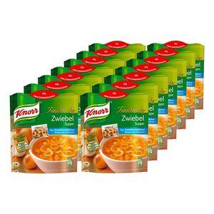 Knorr Feinschmecker Zwiebelsuppe ergibt 0,75 Liter, 14er Pack